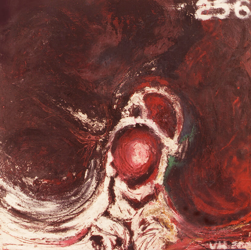 Title: Residual of Nervous Tissue in the Thoracic Cage Artist: Veronica Huacuja Medium: Oil, plastilita with marble powder on canvas Size: 60 x 60 x 4 cm Year: 2000 The artwork intends to poeticize a health condition in human living flesh.#itondo, #artexhibition, #veronicahuacuja, #saachiart, #artandprothesis, #artandx-rays, #Prothesisandart, #artandbonefracture, #artandradiology, #artandtechnology, #artandscience, #artandbones, #blackpainting #Bonefracture, #oilonpaper, #artcollector, #paperprints