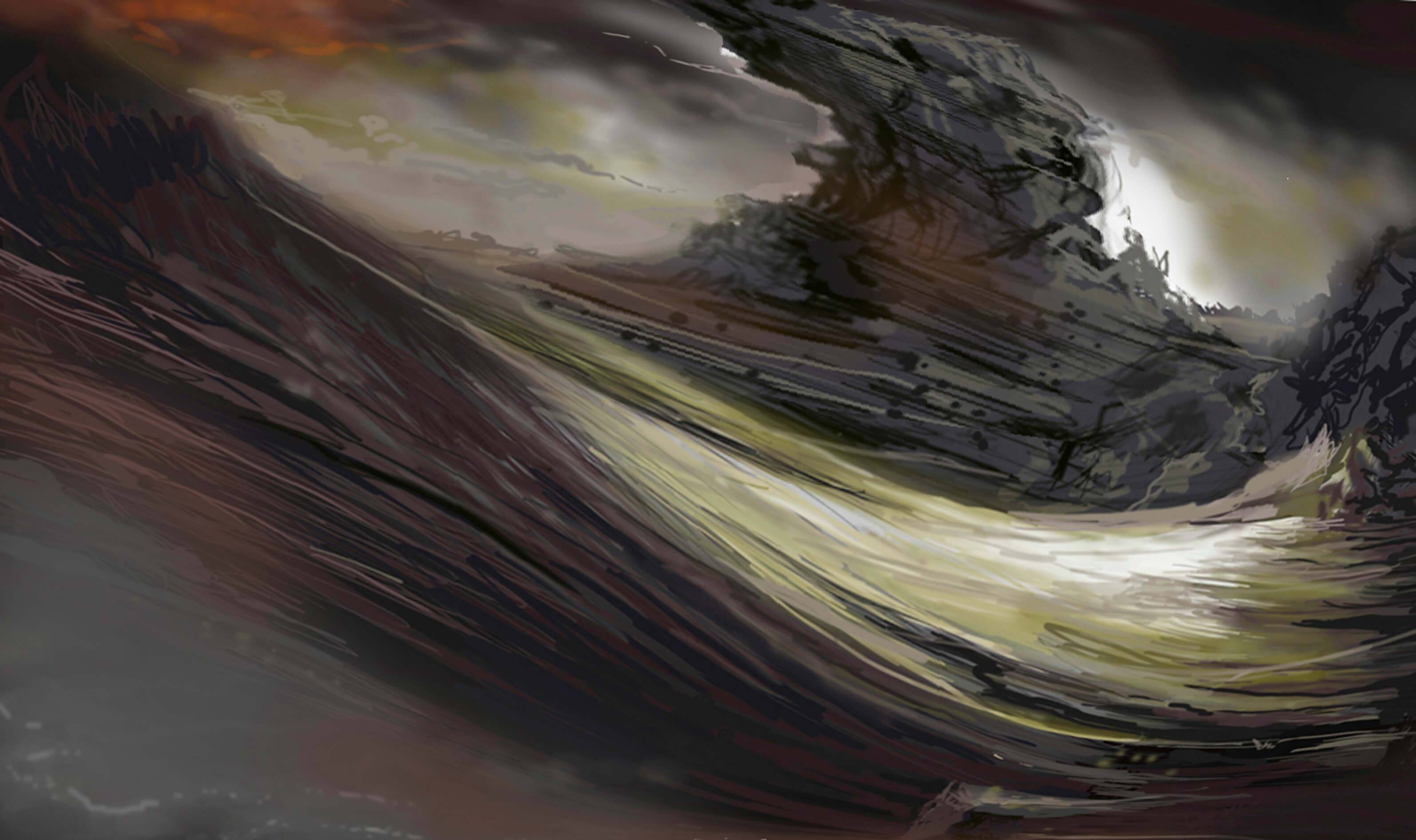 Title: Sketch of a Marine Media: Digital Painting Size: 27 x 16 cm 150 dpi Year: 2018