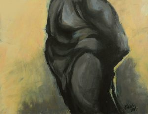 Title: Body Study 62 Artist: Veronica Huacuja Medium: Oil on paper Size: 21 x 27 x 0.1 cm Year: 2019 In my Patreon's feed I detail its creative process. You're welcome to visit: patron.com/veronicahuacuja