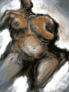 "Title: ""Woman's Body"" Artist: Veronica Huacuja Medium: Digital art Year: 2018"